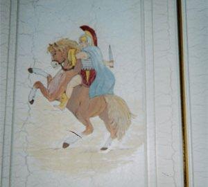 decoro a mano cavallo