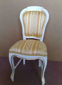 sedia laccata