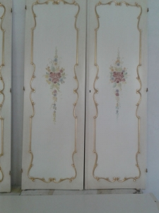 porte decorate fiori